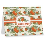 Pumpkins Note cards (Personalized)