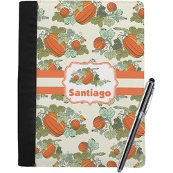 Pumpkins Notebook Padfolio (Personalized)