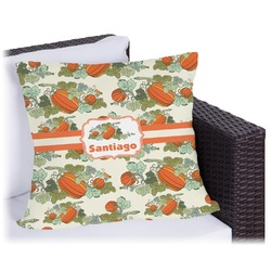 Pumpkins Outdoor Pillow (Personalized)
