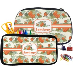 Pumpkins Neoprene Pencil Case (Personalized)