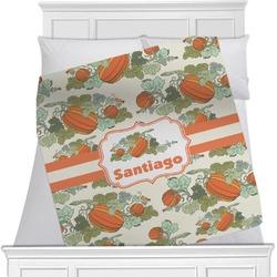 Pumpkins Minky Blanket (Personalized)