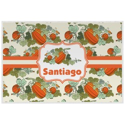 Pumpkins Laminated Placemat w/ Name or Text