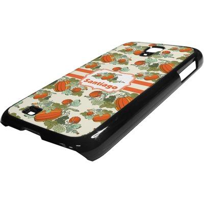 Pumpkins Plastic Samsung Galaxy 4 Phone Case (Personalized)
