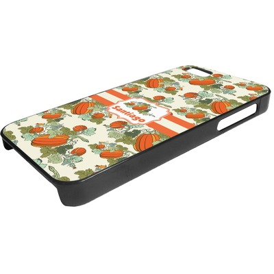 Pumpkins Plastic iPhone 5/5S Phone Case (Personalized)