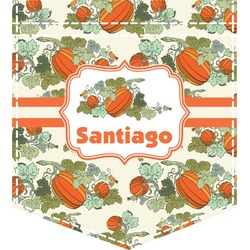 Pumpkins Iron On Faux Pocket (Personalized)