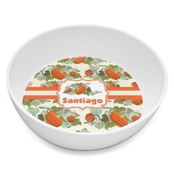 Pumpkins Melamine Bowl 8oz (Personalized)