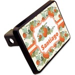 """Pumpkins Rectangular Trailer Hitch Cover - 2"""" (Personalized)"""