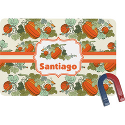 Pumpkins Rectangular Fridge Magnet (Personalized)