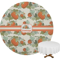 Pumpkins Round Tablecloth (Personalized)