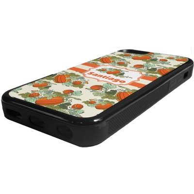 Pumpkins Rubber iPhone 5C Phone Case (Personalized)