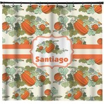 Pumpkins Shower Curtain (Personalized)
