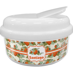 Pumpkins Snack Container (Personalized)