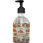 Pumpkins Soap/Lotion Dispenser (Glass) (Personalized)