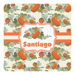 Pumpkins Square Decal - Medium (Personalized)