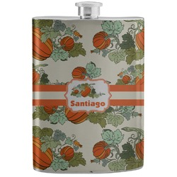 Pumpkins Stainless Steel Flask (Personalized)