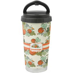 Pumpkins Stainless Steel Travel Mug (Personalized)