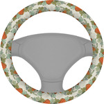 Pumpkins Steering Wheel Cover (Personalized)
