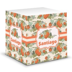 Pumpkins Sticky Note Cube (Personalized)