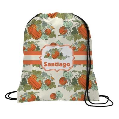 Pumpkins Drawstring Backpack (Personalized)