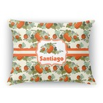Pumpkins Rectangular Throw Pillow Case (Personalized)