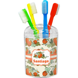 Pumpkins Toothbrush Holder (Personalized)