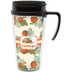 Pumpkins Travel Mug with Handle (Personalized)