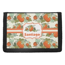 Pumpkins Trifold Wallet (Personalized)