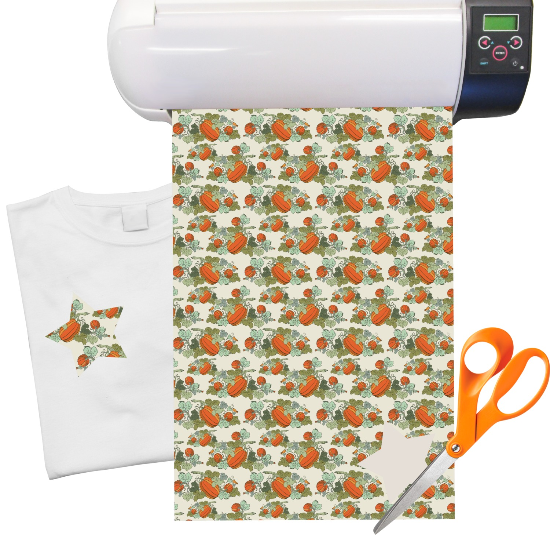 pumpkins heat transfer vinyl sheet 12 x18 youcustomizeit. Black Bedroom Furniture Sets. Home Design Ideas