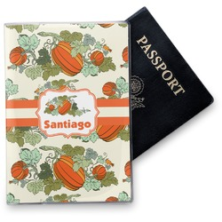 Pumpkins Vinyl Passport Holder (Personalized)