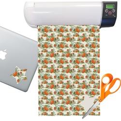 Pumpkins Sticker Vinyl Sheet (Permanent)