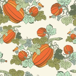 Pumpkins Wallpaper & Surface Covering