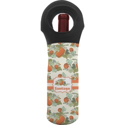 Pumpkins Wine Tote Bag (Personalized)