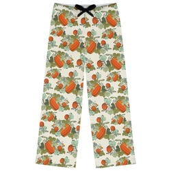 Pumpkins Womens Pajama Pants (Personalized)