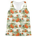 Pumpkins Womens Racerback Tank Top (Personalized)