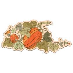 Pumpkins Genuine Wood Sticker (Personalized)