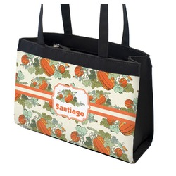 Pumpkins Zippered Everyday Tote (Personalized)