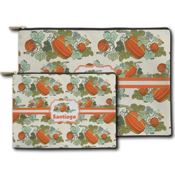 Pumpkins Zipper Pouch (Personalized)