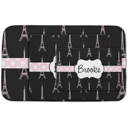 Black Eiffel Tower Area Rug (Personalized)