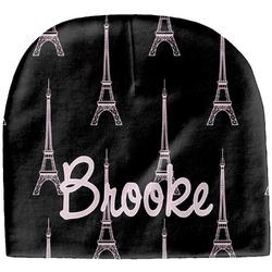 Black Eiffel Tower Baby Hat (Beanie) (Personalized)