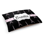Black Eiffel Tower Dog Bed (Personalized)