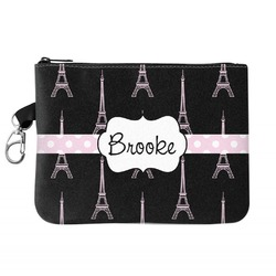 Black Eiffel Tower Golf Accessories Bag (Personalized)