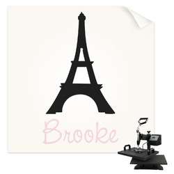 Black Eiffel Tower Sublimation Transfer (Personalized)