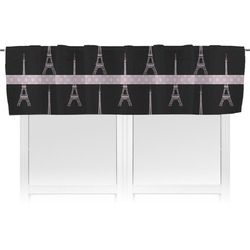 Black Eiffel Tower Valance (Personalized)