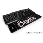 Black Eiffel Tower Keyboard Wrist Rest (Personalized)