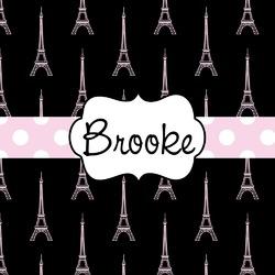 Black Eiffel Tower