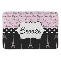 Paris Bonjour and Eiffel Tower Anti-Fatigue Kitchen Mat (Personalized)