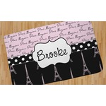 Paris Bonjour and Eiffel Tower Area Rug (Personalized)