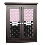 Paris Bonjour and Eiffel Tower Cabinet Decal - Custom Size (Personalized)