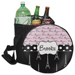 Paris Bonjour and Eiffel Tower Collapsible Cooler & Seat (Personalized)