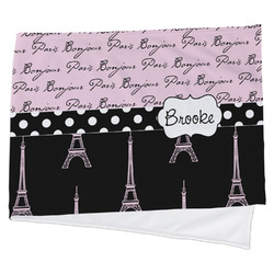 Paris Bonjour and Eiffel Tower Cooling Towel (Personalized)
